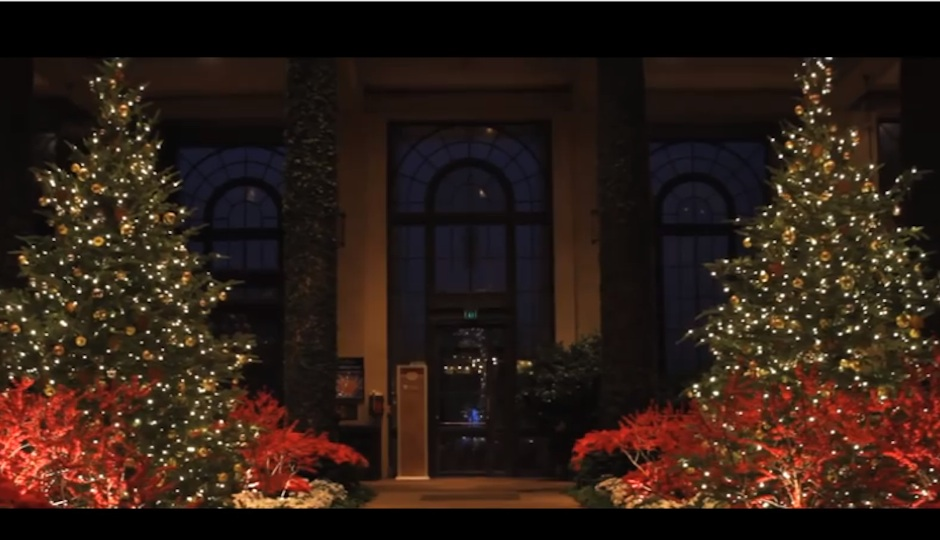 Longwood Gardens Christmas.Longwood Gardens Transforms Into Christmas In Under 2