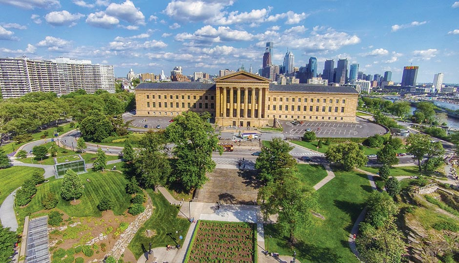 Philadelphia Museum of Art, Fairmount. Photograph by Matt Satell