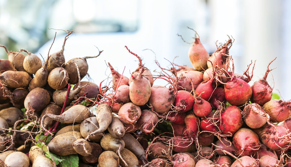 Winter Root Vegetables Will Be One Star of the Pop Up Dinner