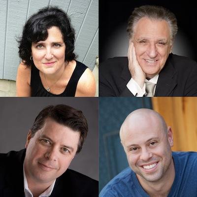Robin Fox, Stewie Stone, Jon Fisch, and Dave Konig will perform at Moo Shoo Jew Show. | Photo courtesy of Gershman Y.