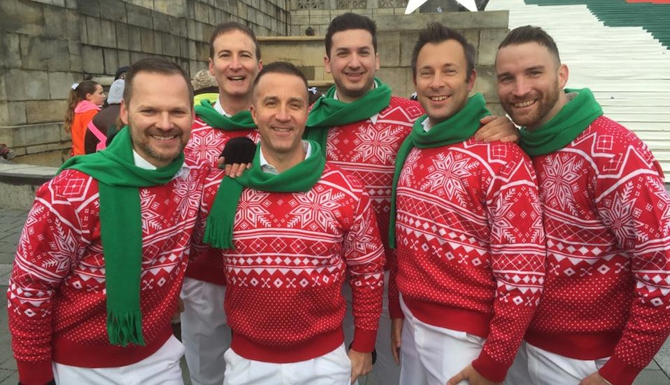 Members of the Philadelphia Gay Men's Chorus, from their official Facebook page.