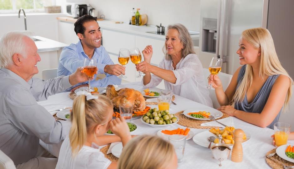 PW-family dinner