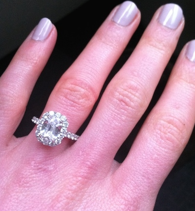 Christine's ring!