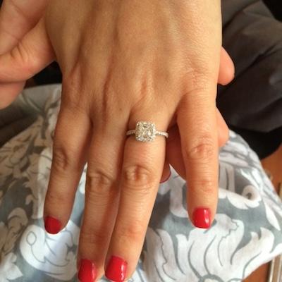Jaclyn's ring!
