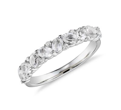 Zac Posen's Leaf diamond ring for Blue Nile