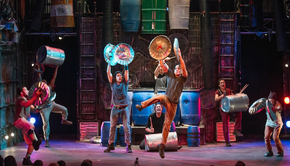 A scene from Stomp. Photo credit: Steve McNicholas