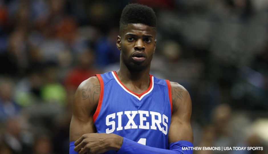 Nerlens Noel has established himself as a cornerstone of the Sixers rebuild | Matthew Emmons, USA TODAY