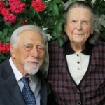 Chester Wenger and his wife Sara Jane | Photo from The Mennonite