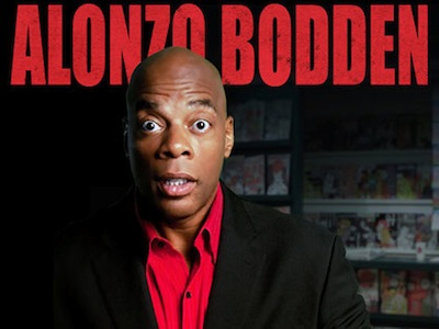 Alonzo Bodden appears at Helium on NYE. | Photo via Alonzo Bodden's Facebook.