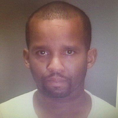Delvin Barnes was also wanted on six felony warrants in Charles City County, Virginia. (Police mugshot)
