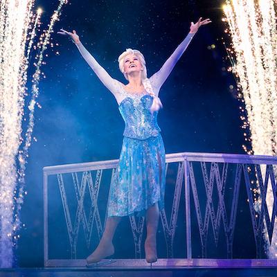 """Let It Go"" with Queen Elsa at the Wells Fargo Center. | Photo via Facebook."