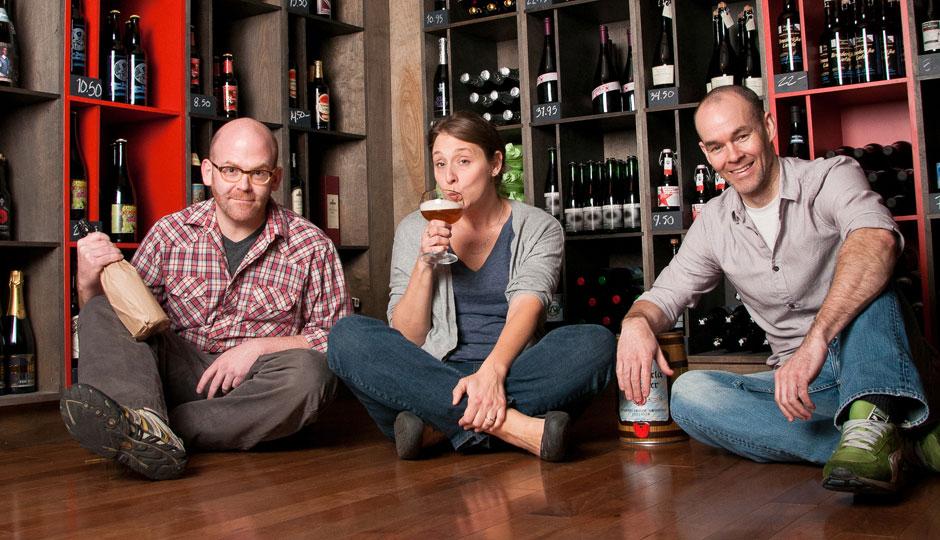Brendan Hartranft, Leigh Maida, Brendan Kelly will be opening Clarkville on Clark Park   Photo by Bryan Karl Lathrop
