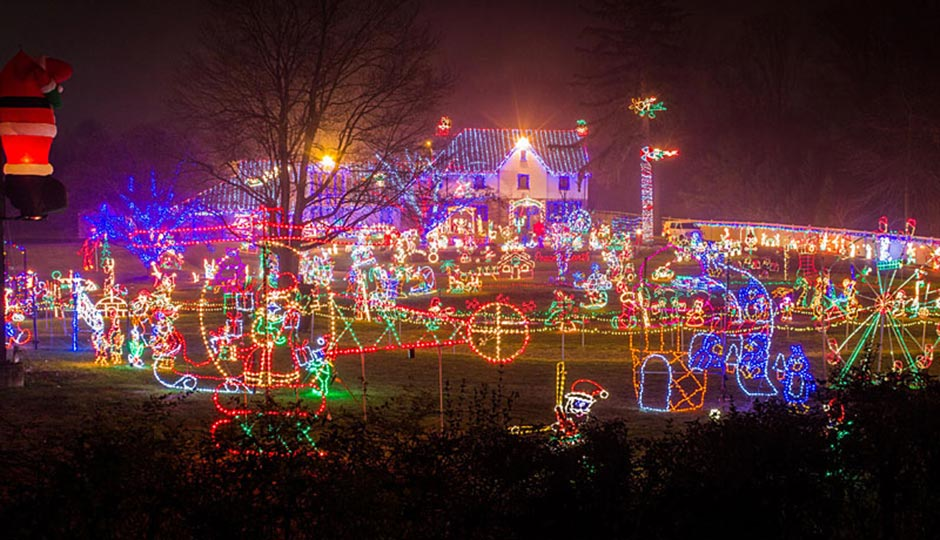 the best christmas lights in and around philadelphia philadelphia