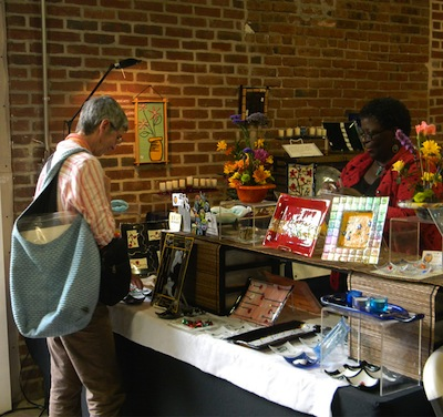 The Mt. Airy Art Garage houses plenty of artsy gifts. | Photo courtesy of MAAG.