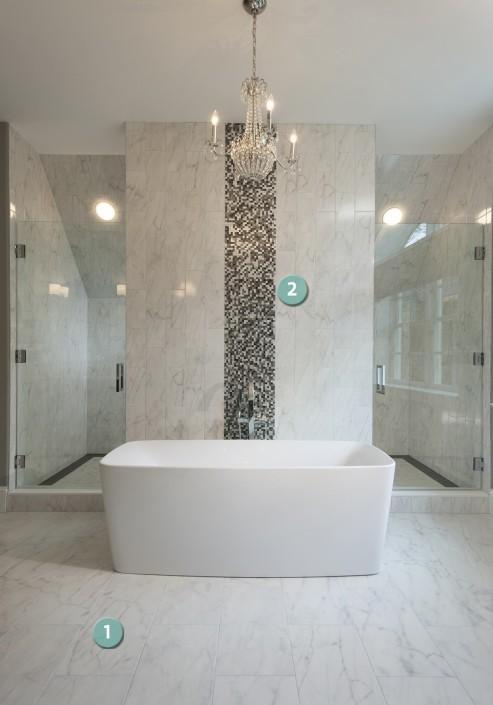 Second Floor Master Bathroom Philadelphia Magazine