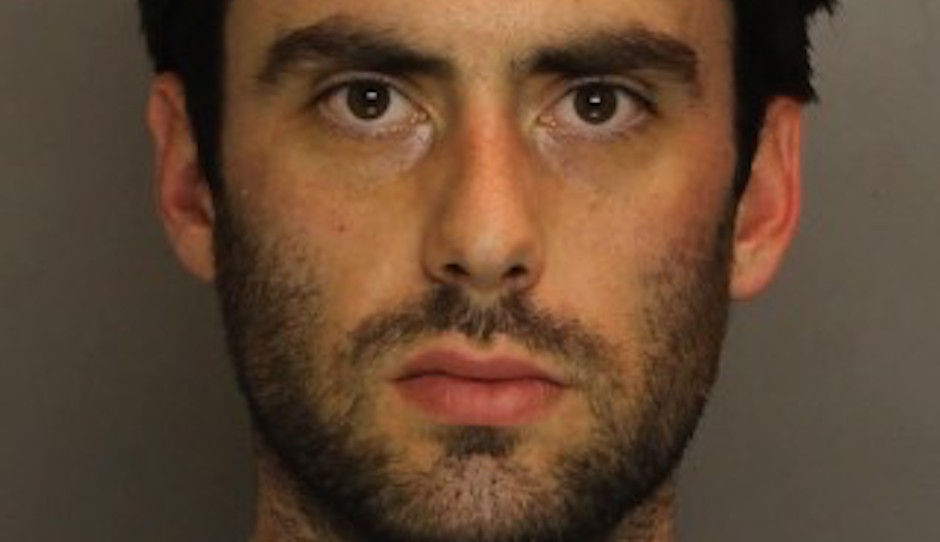 Neil Scott, as seen in his mug shot at the time the Main Line Drug Ring was busted last spring.