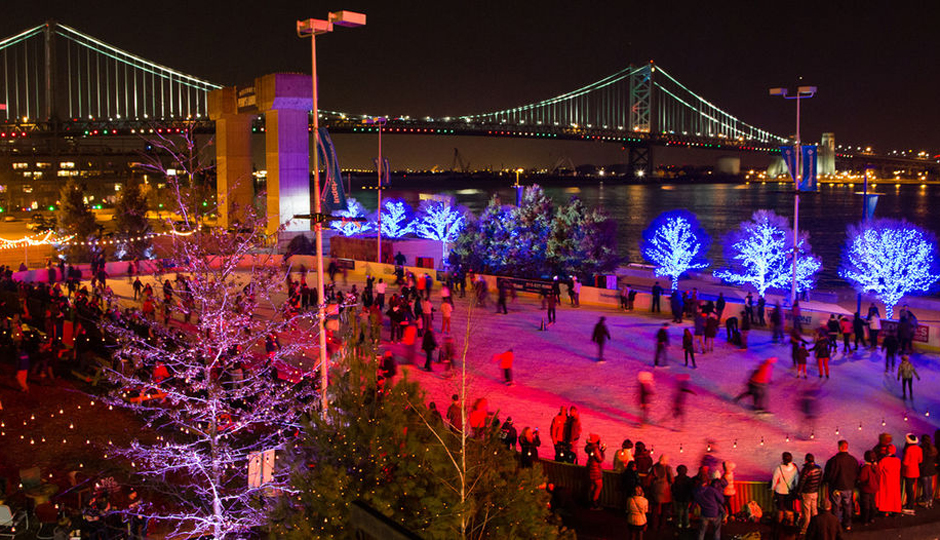 Blue Cross RiverRink | Photo via Delaware Riverfront