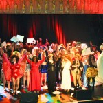 All 82 drag queens after the finale number Friday night at the Trocadero. | Photo by Alexander John