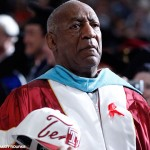 Comedian Bill Cosby at Temple University's commencement Thursday, May 12, 2011, in Philadelphia.