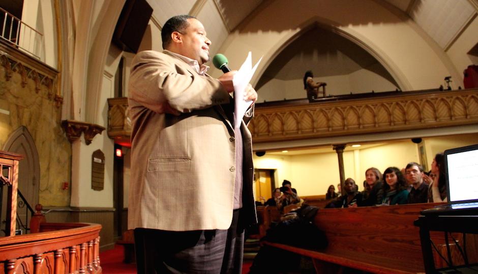 Bishop Dwayne Royster, POWER's executive director.