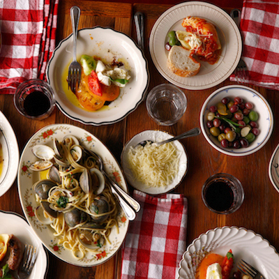 Hearty spread at Little Nonna's. Photo by Jason Varney.