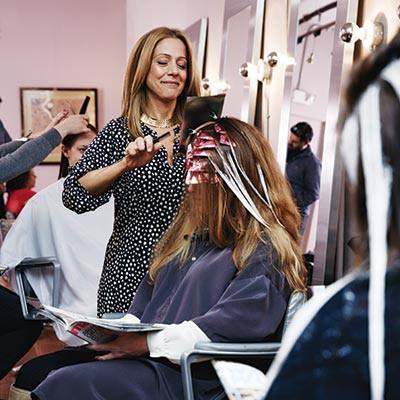 Adrienne Rogers of Hush salon. Photograph by Joseph Balestra
