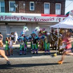 Yup, the Mummers made a major appearance at the first ever Philly 10K. | Photo by Matt Stanley