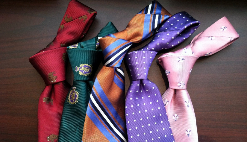 Two of the custom packages come with a tie, too!