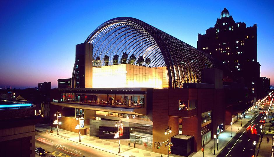 From Property: Orchestra performances, the Pennsylvania Ballet, Thinkfest, whatever your reason for going to the Kimmel Center, we bet you haven't enjoyed the venue from this angle: a free Arts & Architecture tour will be given at the Kimmel this Saturday, as they are every Saturday for if you weren't in the know. The tour includes a highlight of the Kimmel's architectural details, displayed artwork (including the Moore Galleries and Percent for Art Collection) and an exterior examination of the building in context with the Philadelphia cityscape. Tours are given on a first-come, first served basis and are limited to 20 guests. More details here.