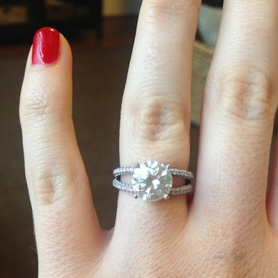 Ashley's ring!