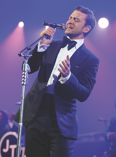 Justin Timberlake will croon-up the Wells Fargo Center December 17th.