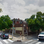 The propposed apartment is set to take the place of the former building at 4536 Spruce, which burned down in February 2011. Photo via Google Street View