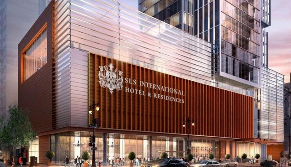 SLS International by Dranoff Properties - Carl Dranoff - Broad and Spruce