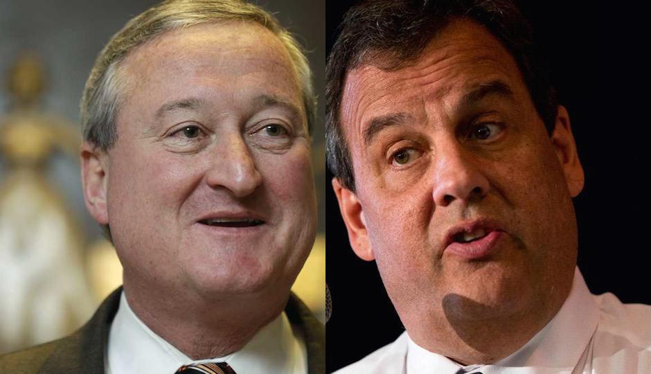 Jim Kenney, Chris Christie
