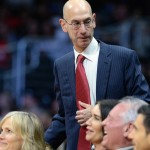 NBA commissioner Adam Silver watches the game between the Los Angeles Clippers and the San Antonio Spurs at Staples Center. Jayne Kamin-Oncea-USA TODAY Sports