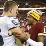 DeSean Jackson and Zach Ertz. (USA Today Sports)