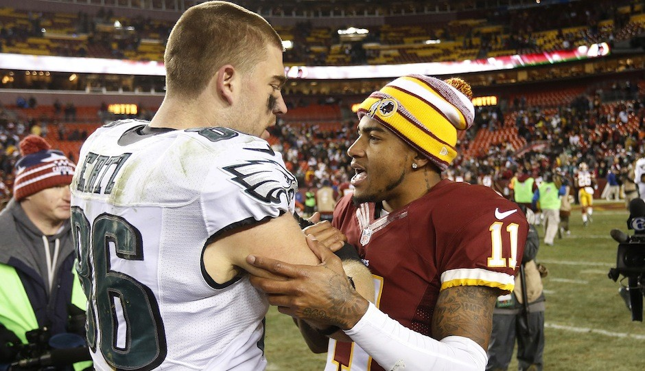 DeSean Jackson and Zach Ertz.