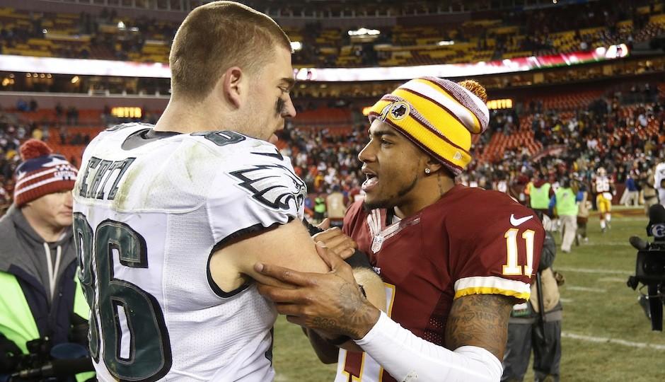 DeSean Jackson and Zach Ertz. (USA Today Sports)
