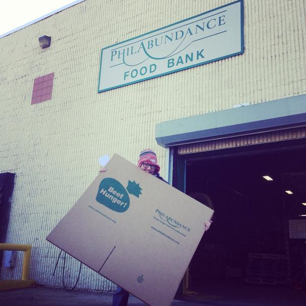 Help Philabundance  today at Memphis Taproom.