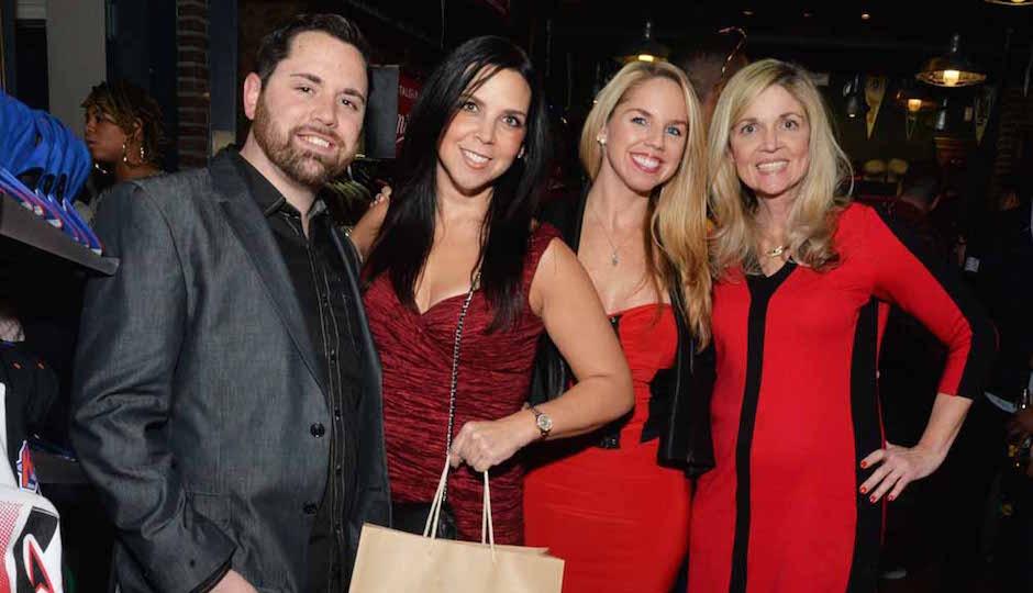 Nicholas Valentino, Melissa Leonard, Jen Sherlock, and Grace Flanigan