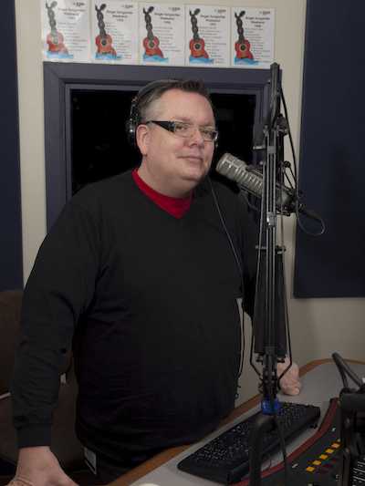 Robert Drake in the studio.   Photo by Joseph Hocker