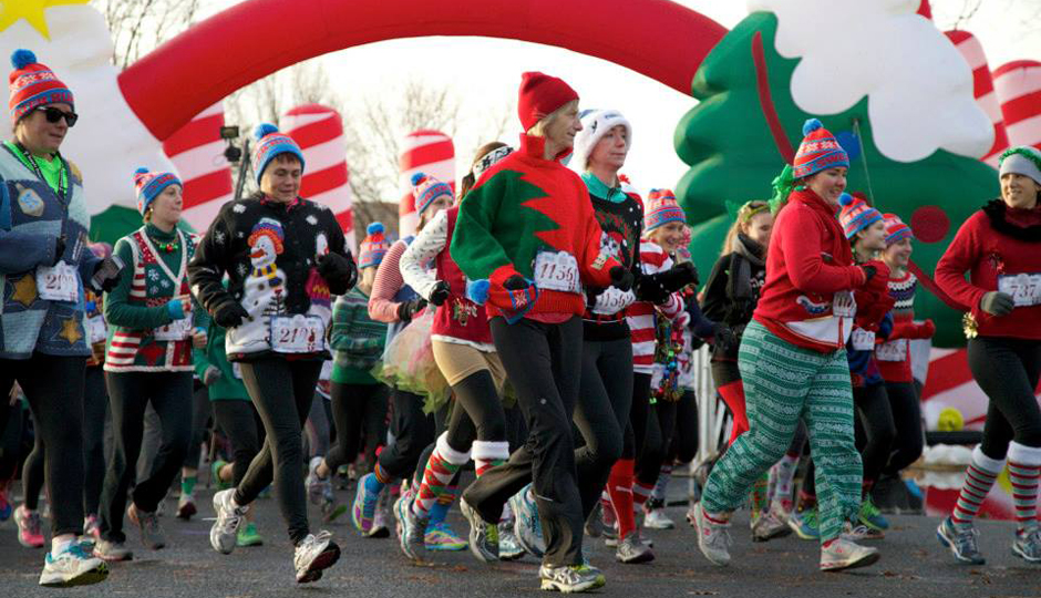 Ugly Sweater Run | Photo via Facebook
