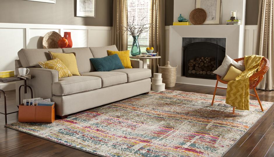 5 helpful hints for choosing the perfect area rug - philadelphia