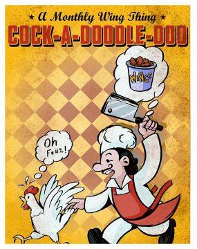 Get Jim Burke's Chicken Wings Feb. 2-9 at Sidecar