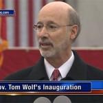 Tom Wolf inaugural