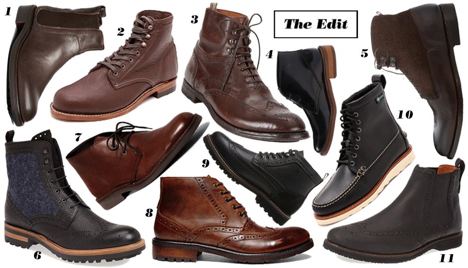 The Edit: 11 Stylish Pairs of Men's Boots That Are On Sale Now