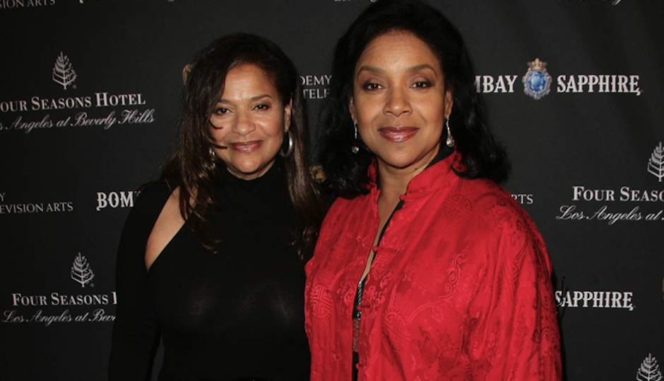 Phylicia Rashad, right, pictured with her sister Debbie Allen.