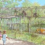 Gorilla Treeway Rendering