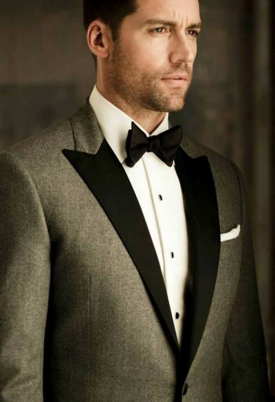 Here's a sampling of J.Hilburn's made-to-measure tuxes.