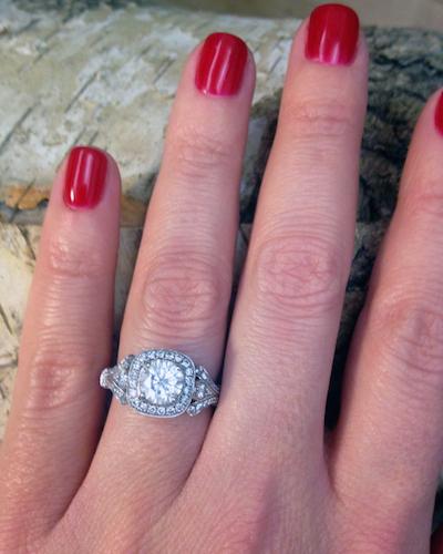 Lisa's ring!